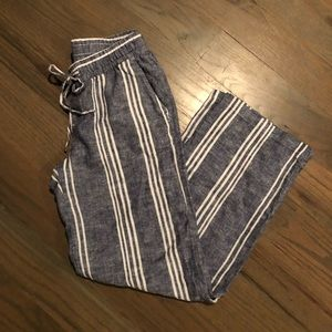 Old Navy Linen Drawstring pants